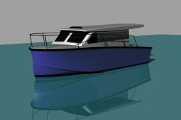 25' Coastal Cruiser Designed by Deakin Marine