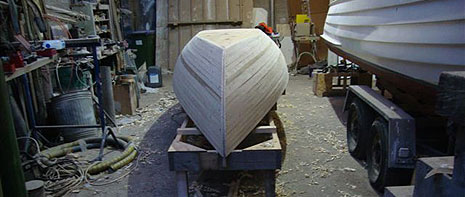 15′ Rowing Skiff Designed by Deakin Marine