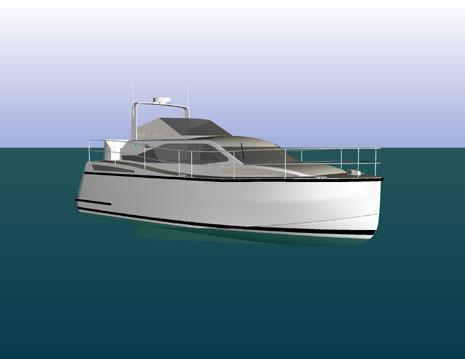 36' Coastal/Inland Cruiser Designed by Deakin Marine
